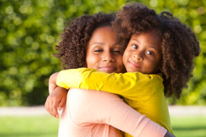 iStock - Mother and Daughter Hugging
