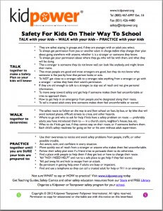 safe dating tips for teens handout printable kids book