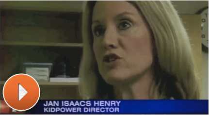 Click to Watch a KKTV interview with Kidpower Colorado center director Jan Isaacs Henry, talking about what Kidpower can do to stop abuse and violence in your community.