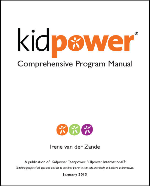 Kidpower Comprehensive Program Manual Front Cover