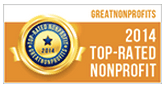 2014 Top Rated Nonprofit Award - GreatNonprofits