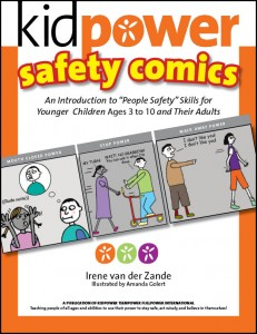Kidpower Safety Comics for Younger Children (ages 3-10) - Book Cover Image - Click to Buy on Amazon