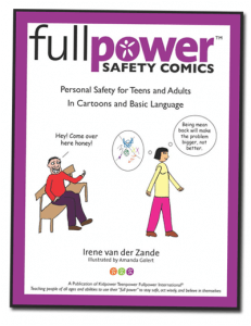 Fullpower Safety Comics for Teens and Adults - Book Cover Image - Click to Buy Now on Amazon
