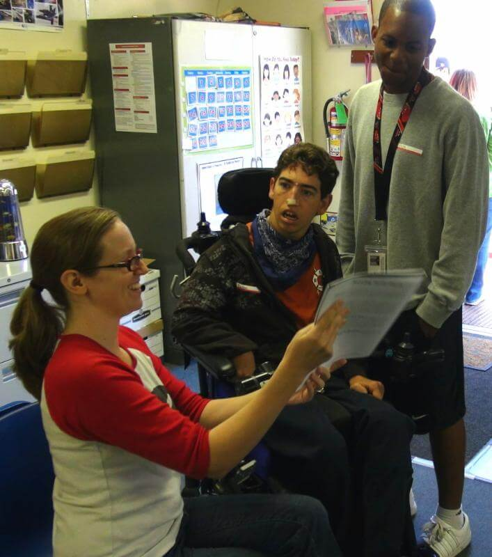 Learning to teach people of all abilities.