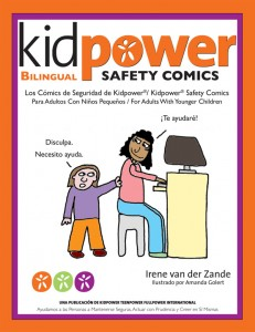 Bilingual Spanish/English - Kidpower Safety Comics for Younger Children - Click to buy on Amazon.