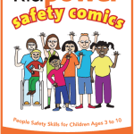 Kidpower Safety Comics for younger children (ages 3-10) Book Cover Image