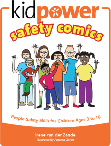 Kidpower Safety Comics for younger children (ages 3-10) Book Cover Image - Click to learn more and buy.