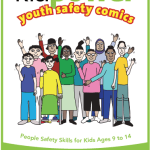 Kidpower Youth Safety Comics for kids ages (9-14) Book Cover Image