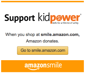 When you shop at smile.amazon.com, Amazon donates! Support Kidpower with your shopping!