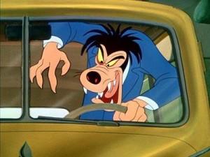 Goofy in Motor Mania