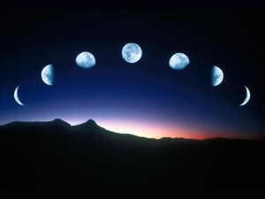 It is sometimes a skinny moon, and sometimes a half moon, and sometimes a full round moon - but no matter what shape it is, all moons are beautiful!