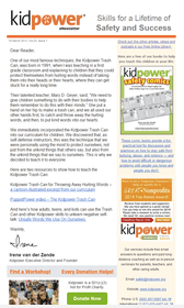Kidpower eNewsletter Image
