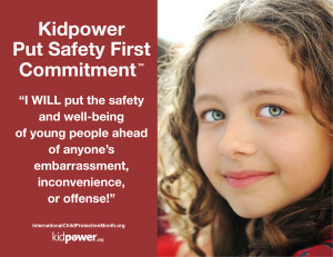 Put Safety First Commitment Poster - web graphic