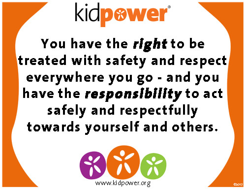 Kidpower Safety & Respect Poster to Help Prevent Bullying | Kidpower International