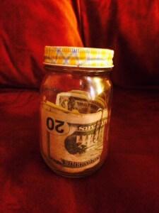 4 H Kids Money Jar Donation