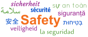 A Word-Cloud of Safety in 10 Languages