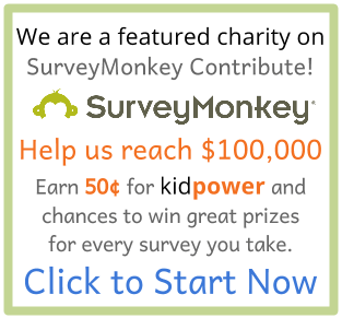 We are a featured charity on SurveyMonkey Contribute - Help us reach $100k by taking brief surveys! Click to Start Now.