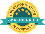 2016 Great Nonprofits Badge