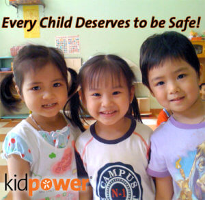 Every Child Deserves to be Safe! Please Donate to Kidpower