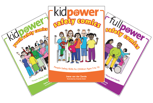 Kidpower Safety Comics Front Cover