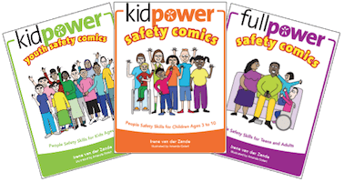 Kidpower Safety Comics Series - 3 Books