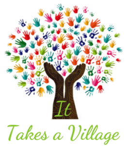 "Child Protection Advocacy Tree Image - ""It takes a village"""