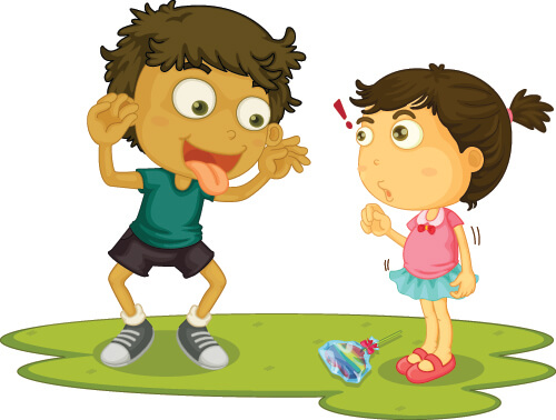 Stop bullying among siblings with Kidpower advice for a concerned babysitter.