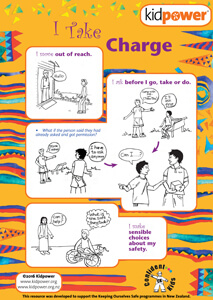 Confident Kids - I Take Charge | Kidpower International