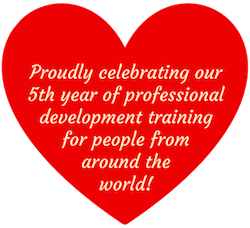 Proudly celebrating our 5th year of professional development training for people from around the world!