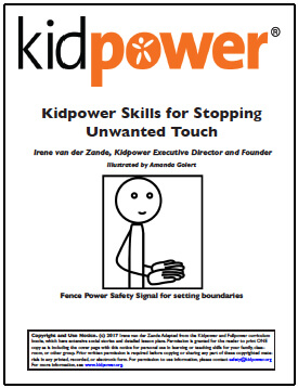 Kidpower Skills for Stopping Unwanted Touch