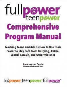Fullpower/Teenpower Comprehensive Program Manual - Textbook Cover Image - Click to Buy on Amazon.