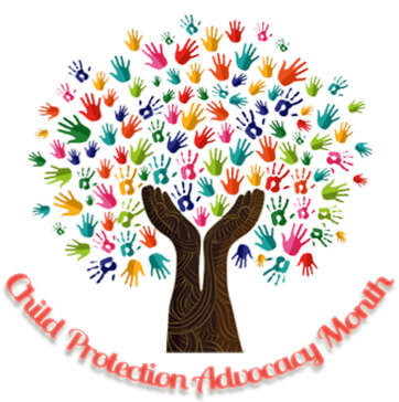 Child Protection Advocacy Month - Tree Logo