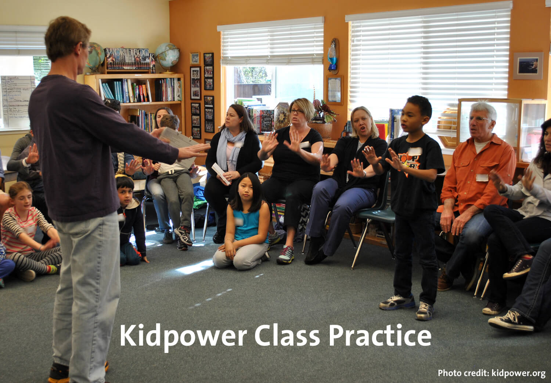 Kidpower Class Practice