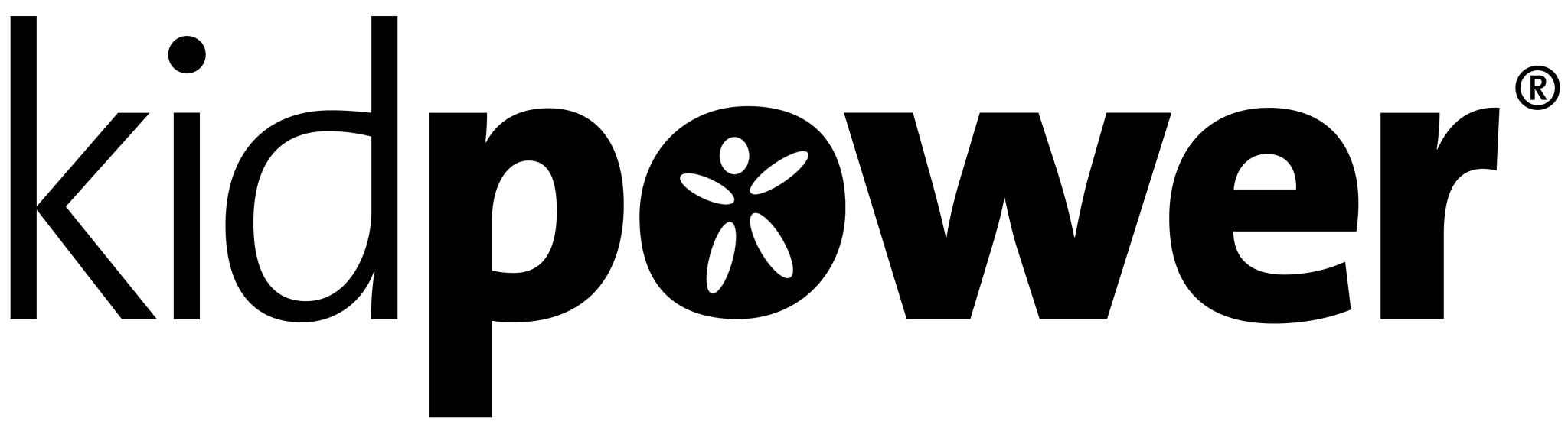 Kidpower Logo - Black & White