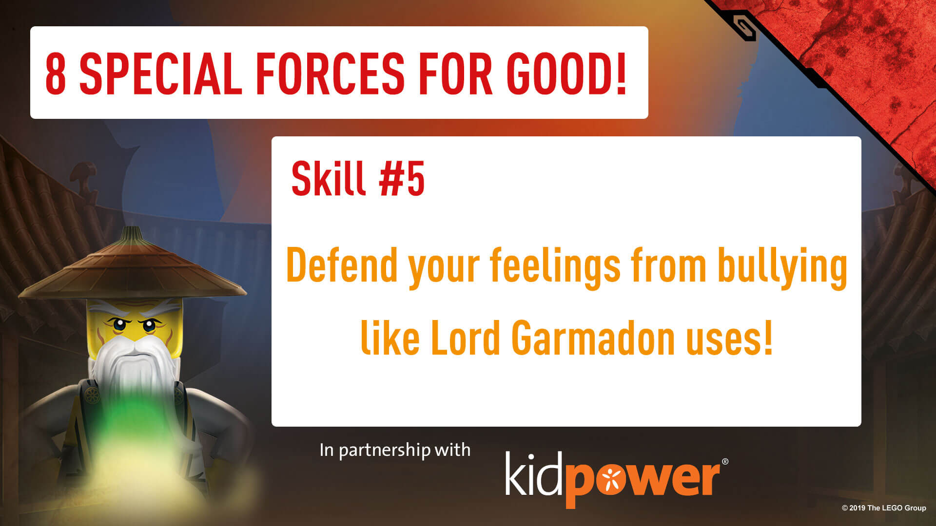 Special Forces For Good - Skill #5 - NINJAGO & KIDPOWER