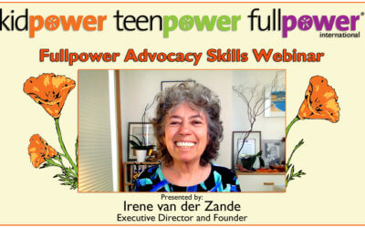 Fullpower Advocacy Skills Webinar Recording and Resources
