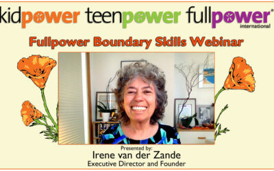 Fullpower Boundary Skills Webinar Recording and Resources
